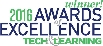 AceReader - Tech & Learning 2016 Awards of Excellence winner!