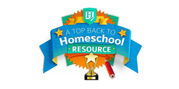 Back to Homeschool Resource Award winner!